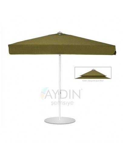 Mode 400x400 cm Kare Şemsiye