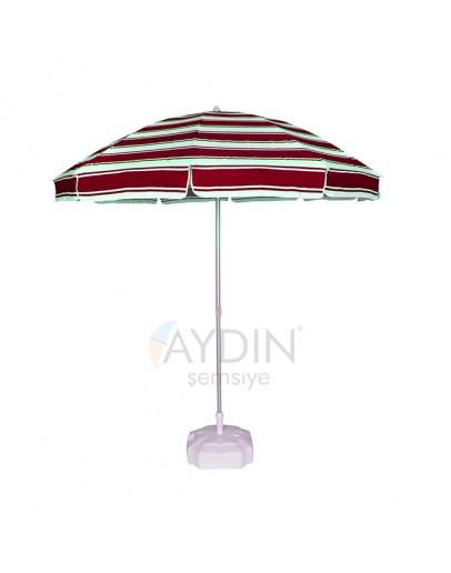 Ø 160/8 gabardin kumaş plaj şemsiyesi