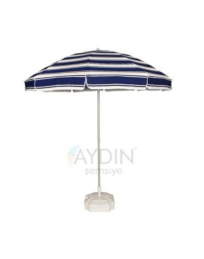 Ø 200/10 gabardin kumaş plaj şemsiyesi