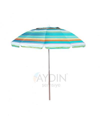 Ø 170/8  İthal havalandırmalı plaj şemsiyesi