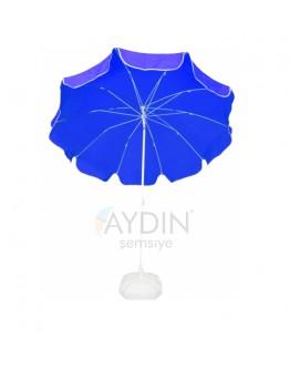 Ø 160/8 polyester kumaş plaj şemsiyesi